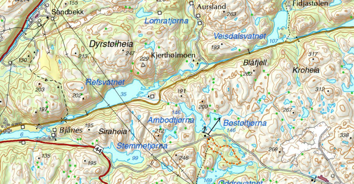Tur til Blåfjell gruver (og en middelalderlandsby)