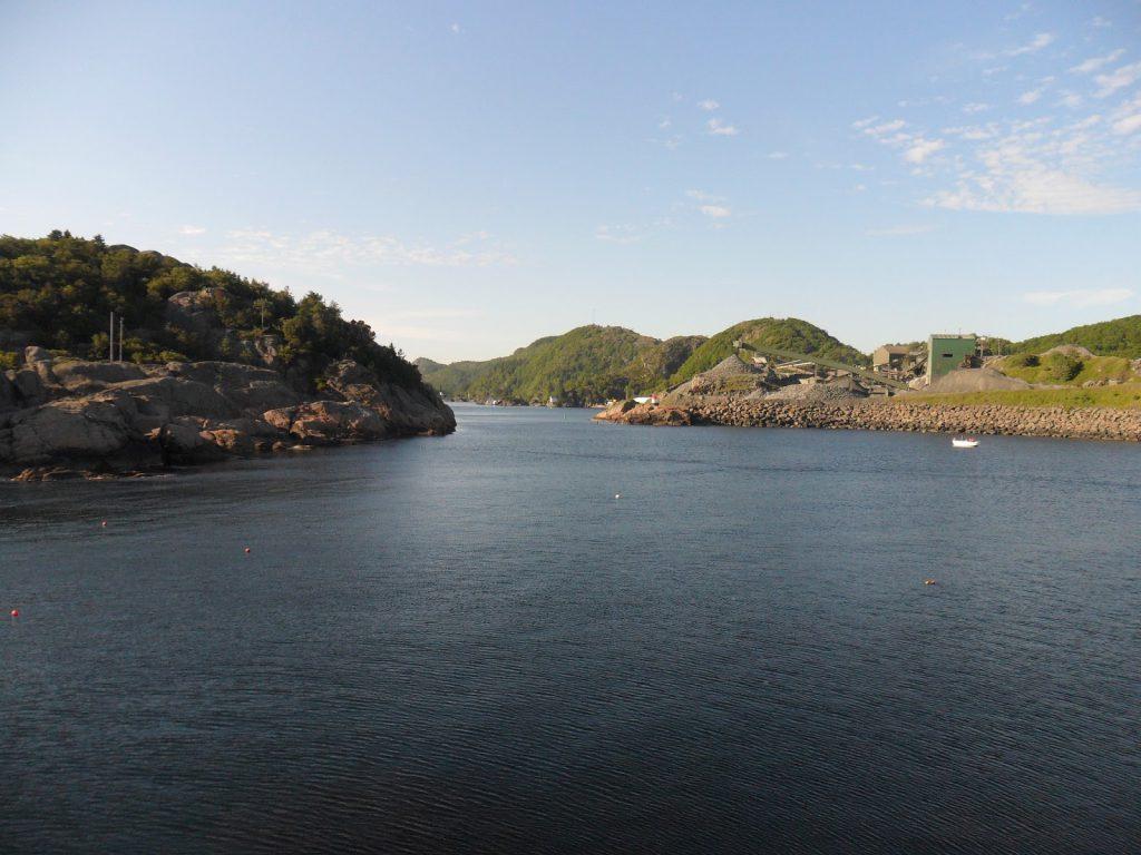 Innløpet til Rekefjord
