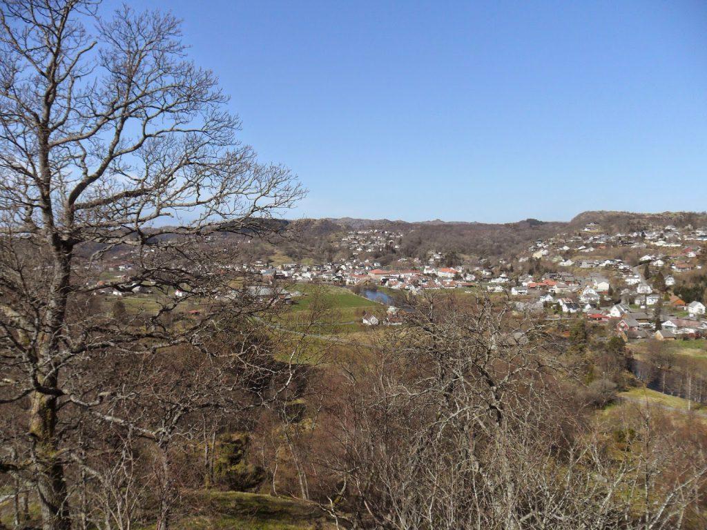 Fin utsikt mot Bø