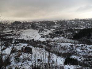Utsikten fra Varberg