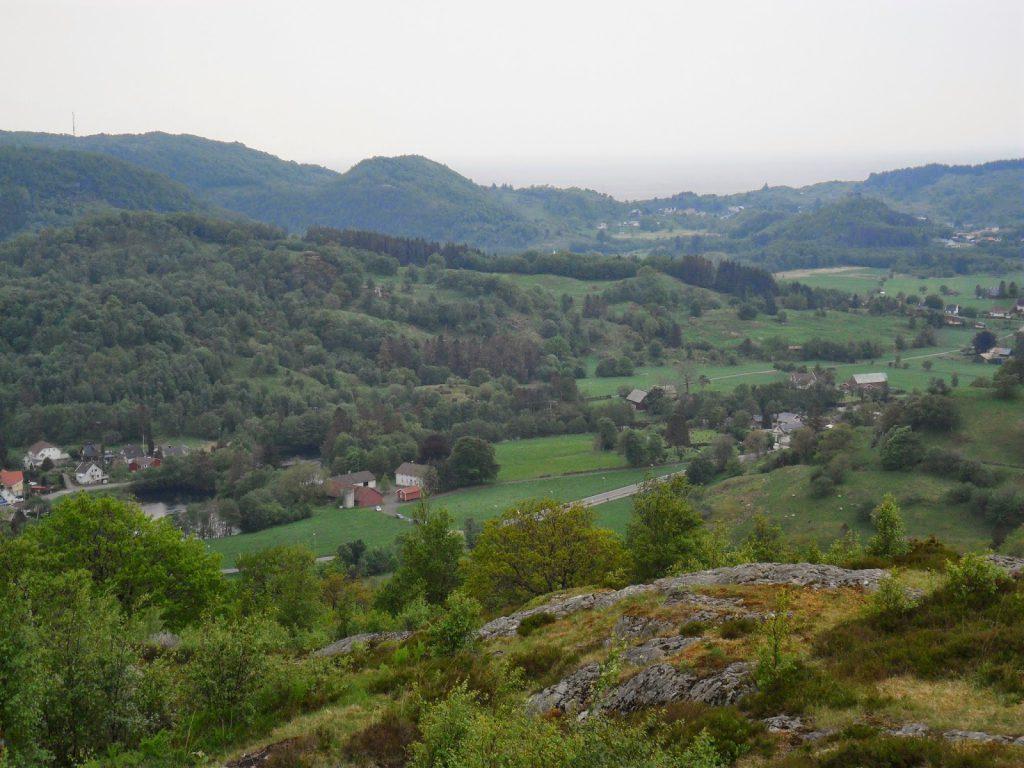 Utsikt mot Sogndalstrand