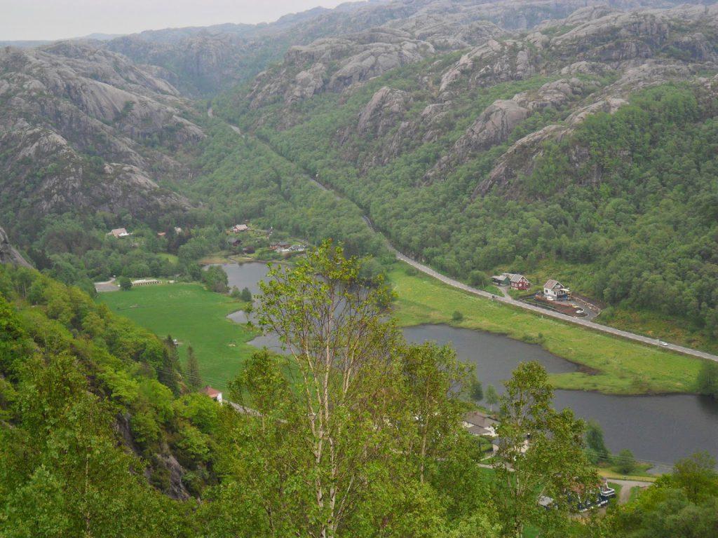 Utsikt mot Bjånes
