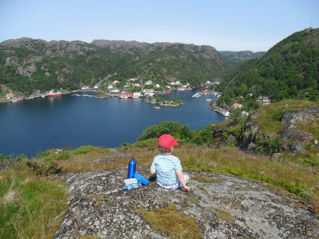 Utsikt innover Rekefjord