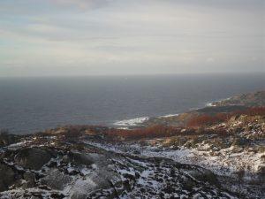 Utsikt fra Sletna
