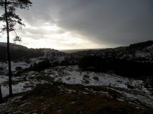 Utsikt fra Øykollen på Øyno