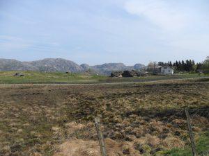 Utsikt fra Håland mot Solliknuten