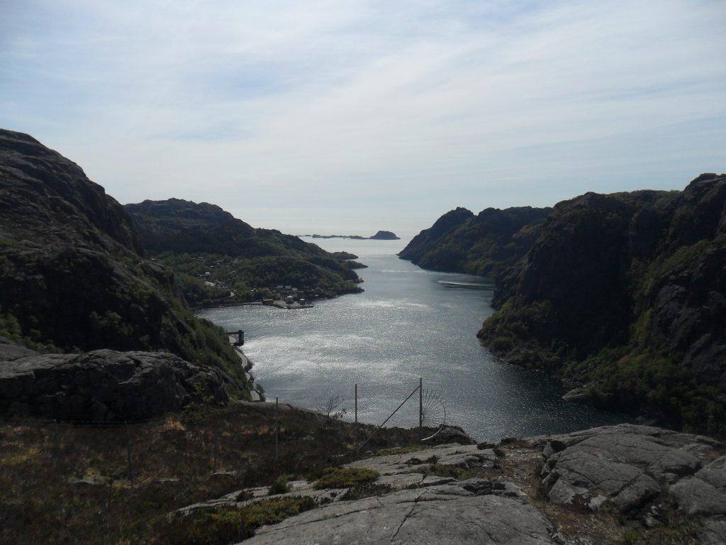 Fin utsikt utover Jøssingfjorden
