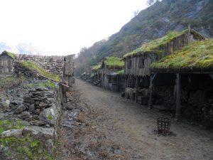 Middelalderlandsbyen ved Blåfjell gruver