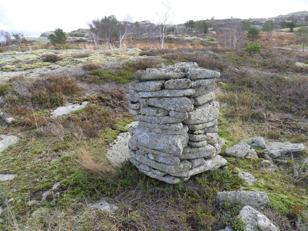 En gammel steinvarde
