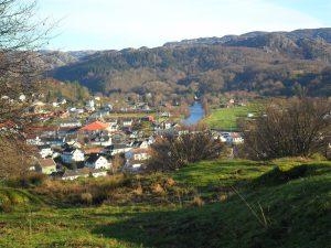 Utsikt mot Bø og Frøyland