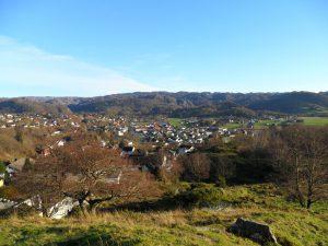 Utsikt fra toppen av Solhaug