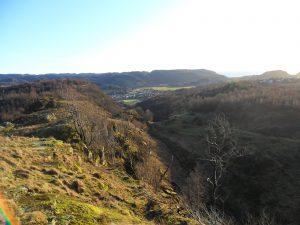 Utsikt fra Bjednaråsen