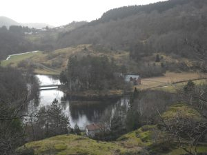 Utsikt mot Lindlandsbroa