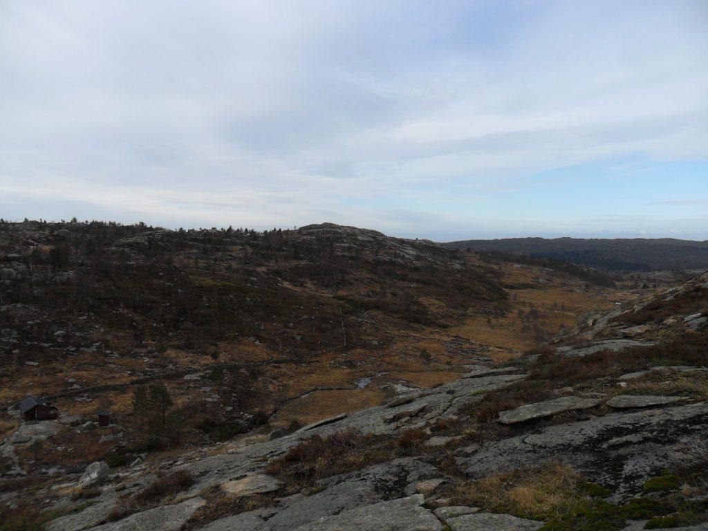 En flott dal fra Dokketjødna, retning Steinsvatnet