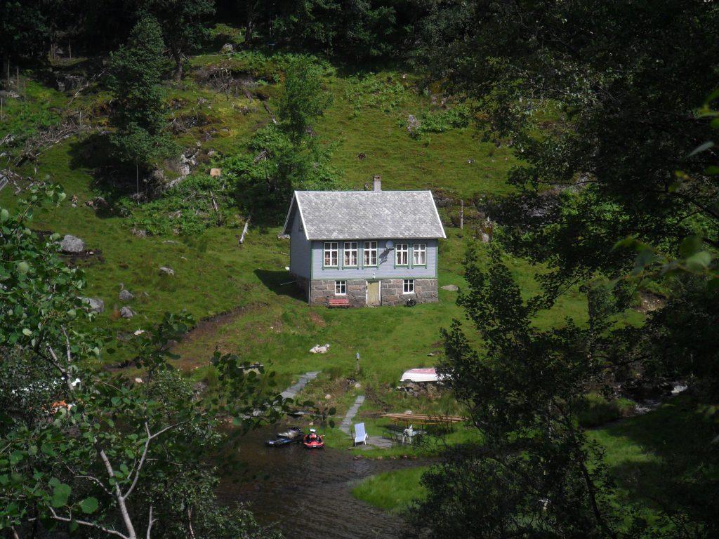 Skolehuset i Store Omdal