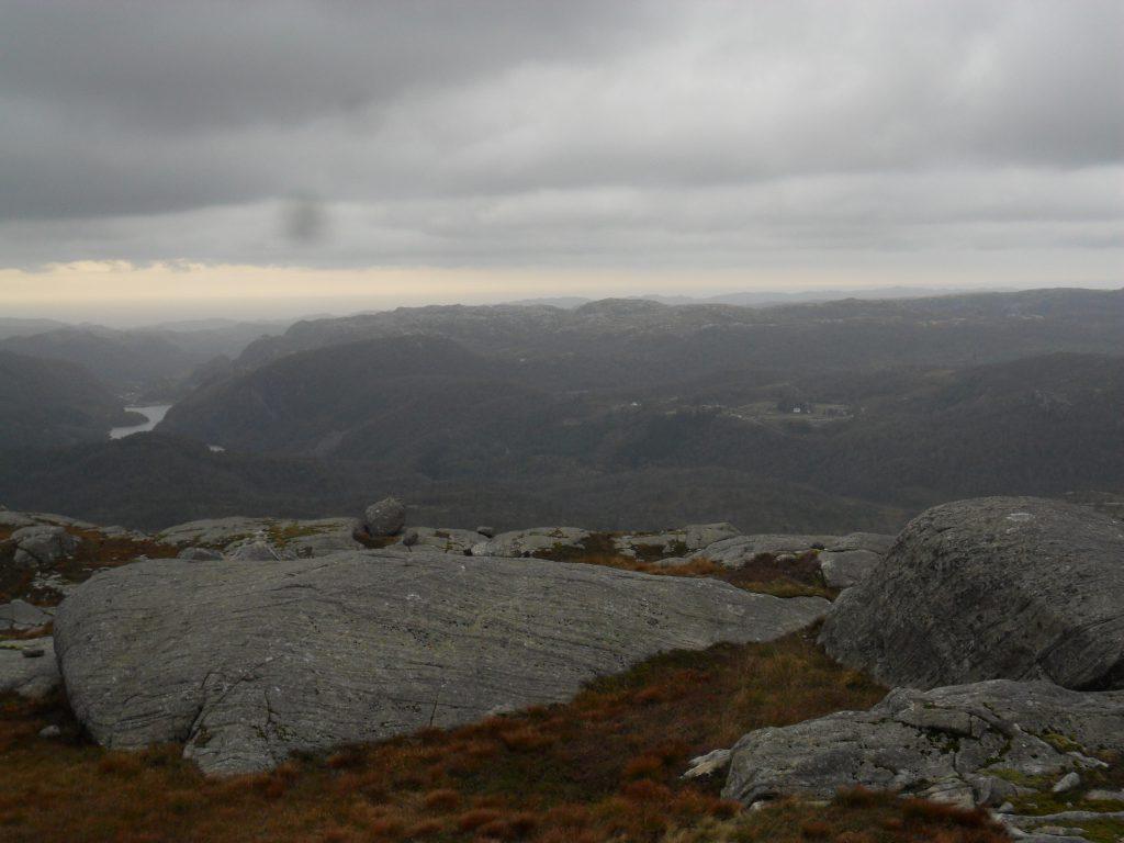 Håland sett fra Solliheia